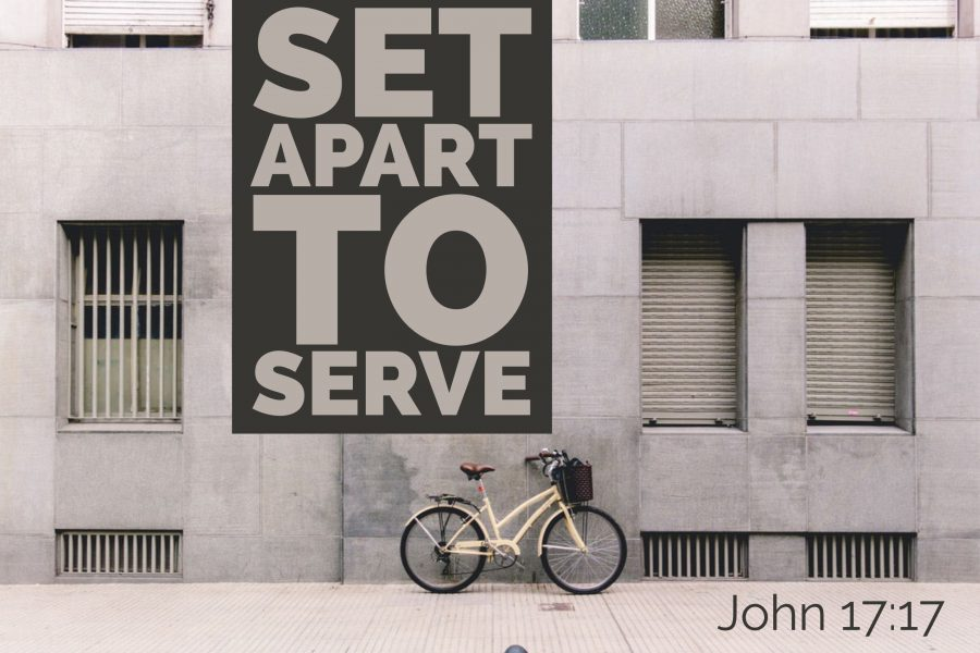 Set Apart To Serve Image